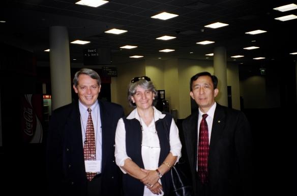 John & Annabelle McDonald with Hoc Ku Huynh