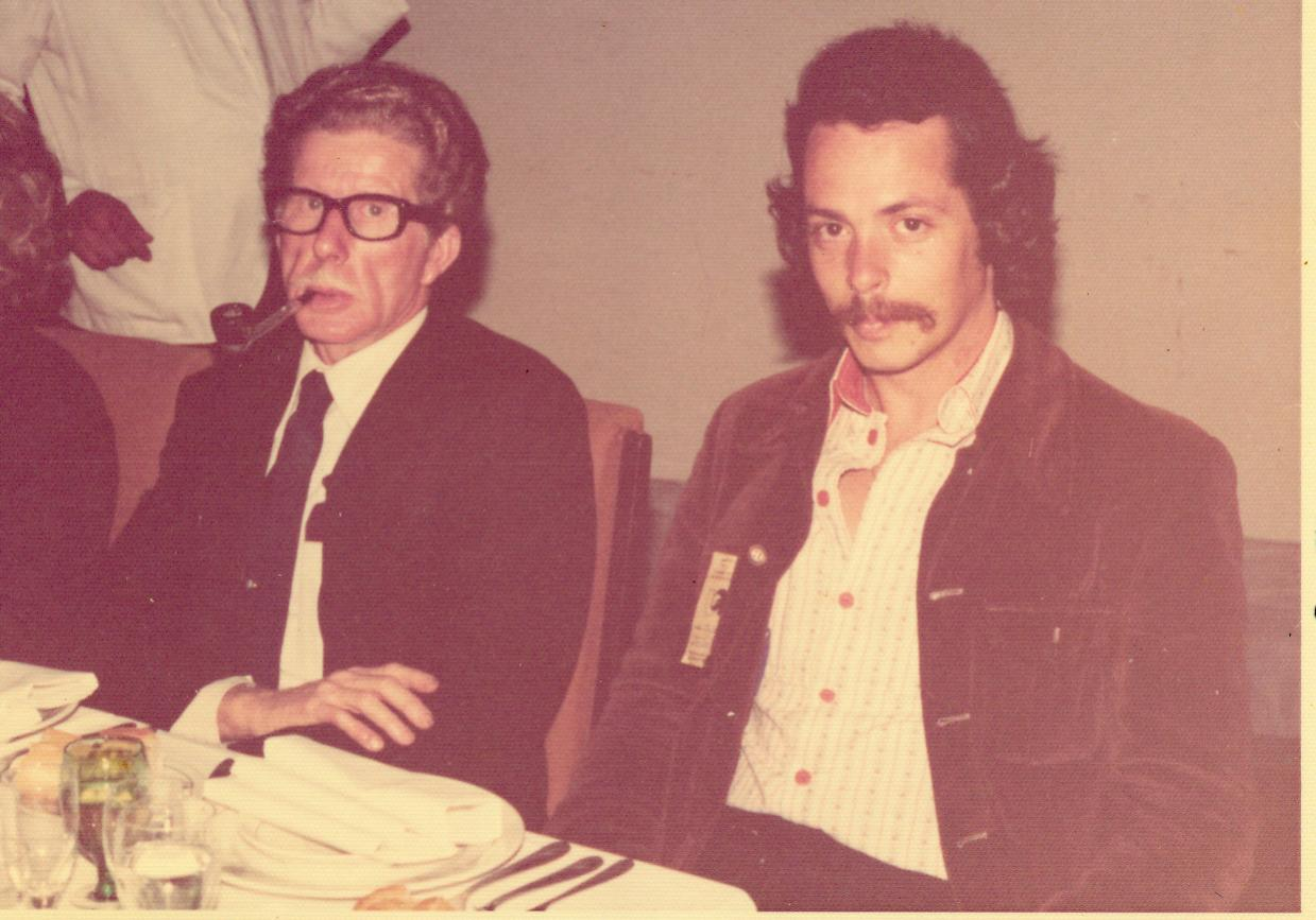 Bill schwebel & John McDonald at WASA conference in Argentina, 1976