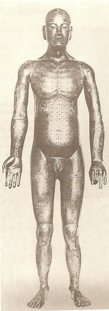 Bronze man tokyo