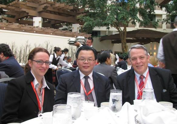 Claudia Witt, Charlie Xue & John McDonald