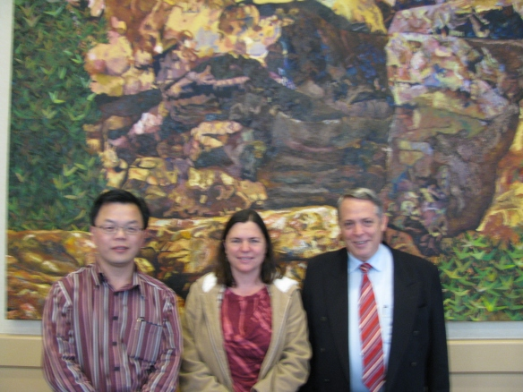 Charlie Xue, Brenda Golianu & John McDonald at San Francisco WFAS 2010