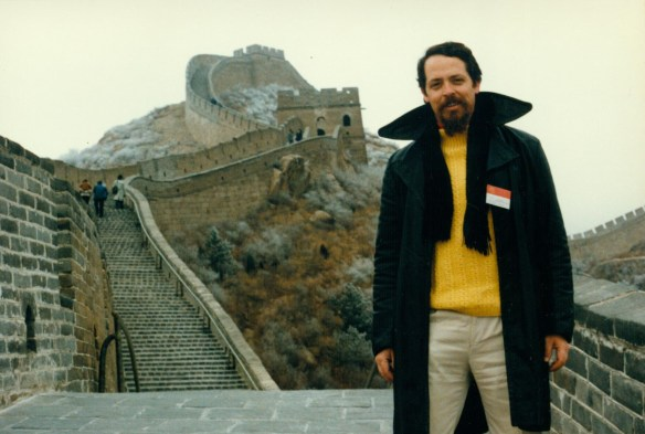 john mcdonald on great wall during wfas 1