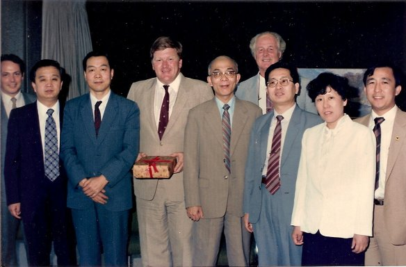 TCM delegation 1987 in NSW Health Minister's office