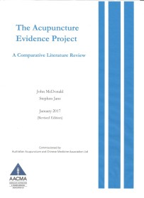 The Acupuncture evidence Project cover
